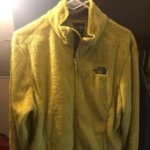 North face jacket used once size medium